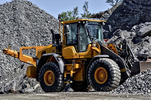 Vehicle Fire Suppression Systems for wheel loaders